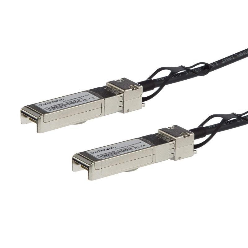 StarTech Cisco SFP-H10GB-CU2-5M Compatible SFP+ Direct-Attach Twinax Cable - 2.5 m (8.2 ft)