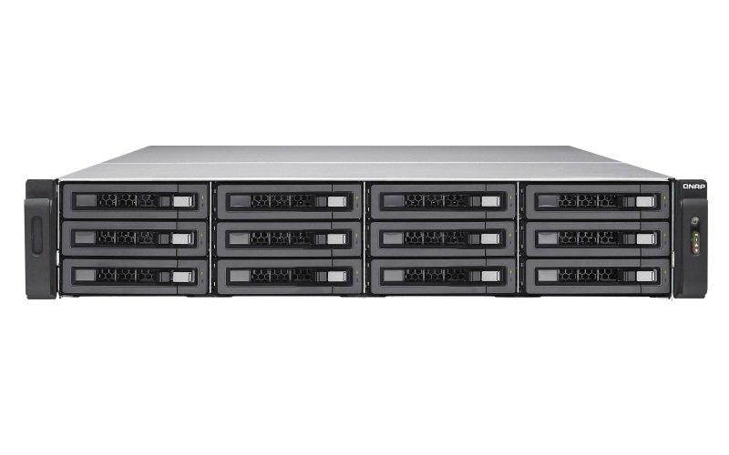 QNAP TS-EC1280U-E3-4GE-R2 96TB (12x8TB SGT-EXOS) 12 Bay with 4GB RAM