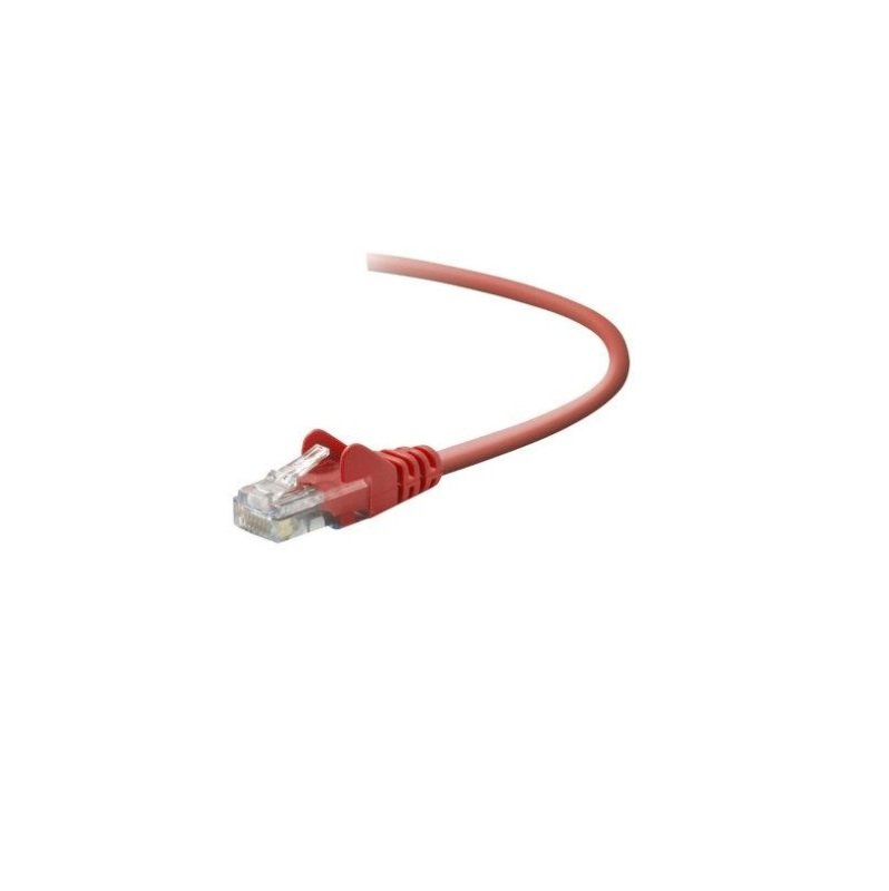 Belkin Cat5e Snagless UTP Patch Cable (Red) 5m