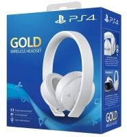 Sony PS4 Gold Wireless Stereo White Headset