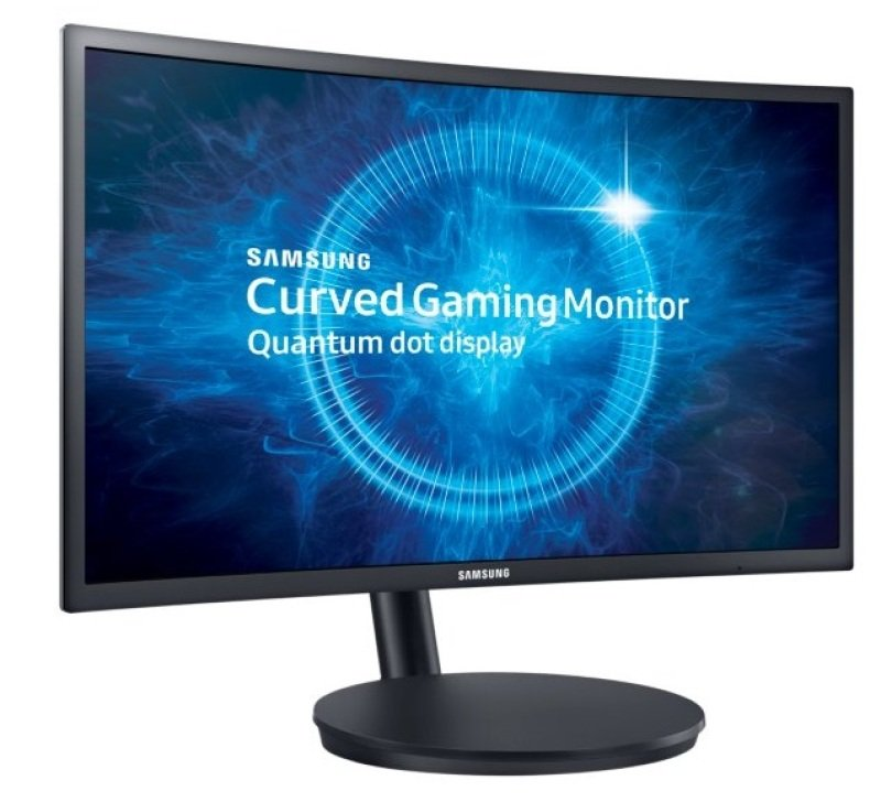 "EXDISPLAY Samsung C24FG70 24"" 144Hz 1ms Curved Gaming Monitor"