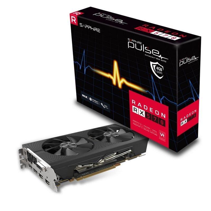 Sapphire RX 570 PULSE Radeon 4GB Graphics Card