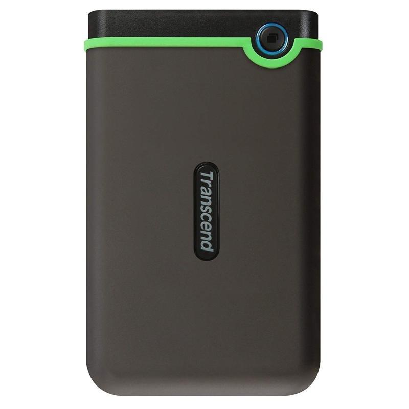"Transcend StoreJet Slim M3S 2.5"" 1TB Portable Hard Drive"
