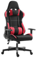 EG Premium Gaming Chair - Red and Black Fabric