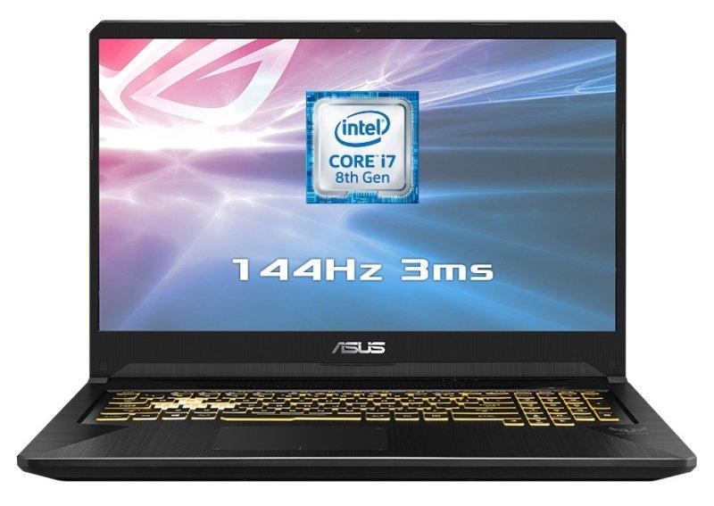 "ASUS TUF Gaming FX705GM EV101T Intel Core i7, NVIDIA GeForce GTX 1060, 17.3"", 16GB RAM, 1TB HDD and 256GB SSD, Windows 10, Notebook - Black"