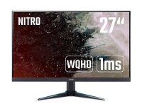 Acer Nitro VG270UPbmiipx 27 inch WQHD Gaming Monitor, IPS Panel, FreeSync, 144Hz, 1ms, ZeroFrame, DP, HDMI, Speakers