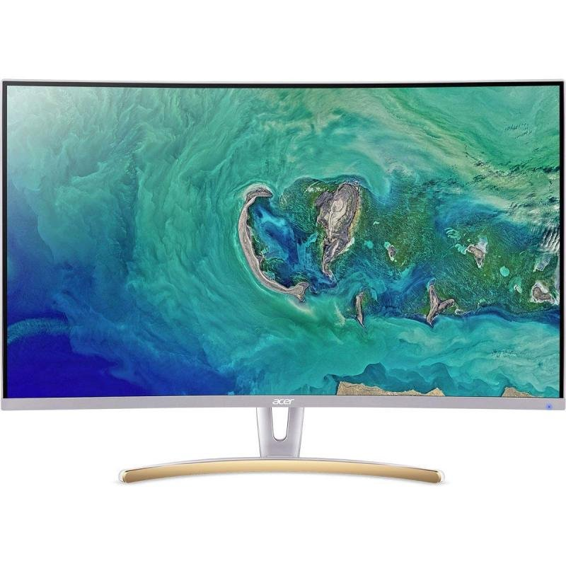 "Acer Ed323qurwidpx 31.5"" QHD Curved White Monitor"