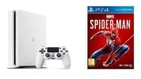 Sony 500GB White PS4 with Marvel's Spiderman