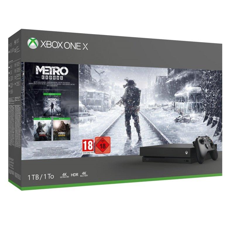 Xbox One X 1TB with Metro Exodus
