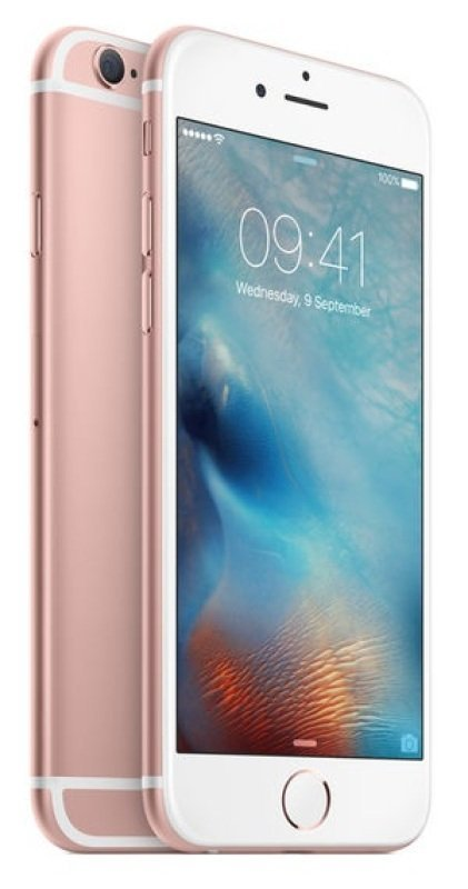 Apple iPhone 6s 128GB Phone - Rose Gold