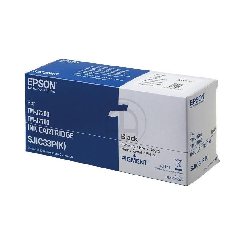 Epson Black Ink Cartridge (TM-J7200)