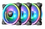 Thermaltake Riing Trio 14 RGB 140mm 3 Pack with Controller