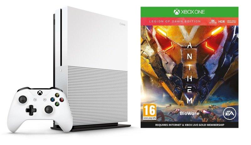 Xbox One S 1TB with Anthem Legion of Dawn Edition