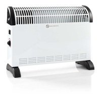 Nedis Convection Heater | 750/1250/2000 W | White