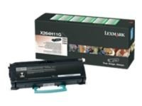 Lexmark X264H11G High Yield Black Return Program Toner Cartridge