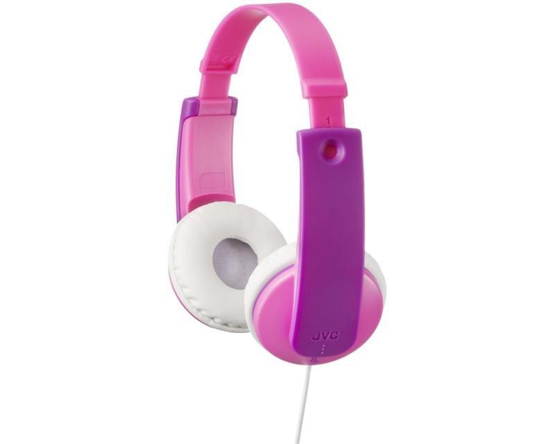 JVC Kids Over Ear Purple/Pink Headphones