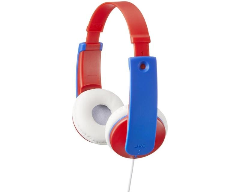 JVC Kids Over Ear Blue/Red Headphones