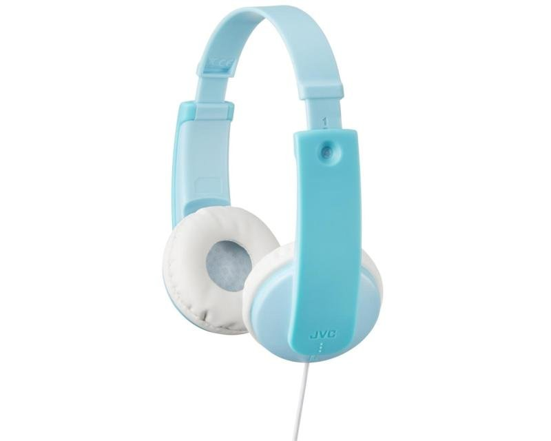 JVC Kids Over Ear Mint Blue Headphones