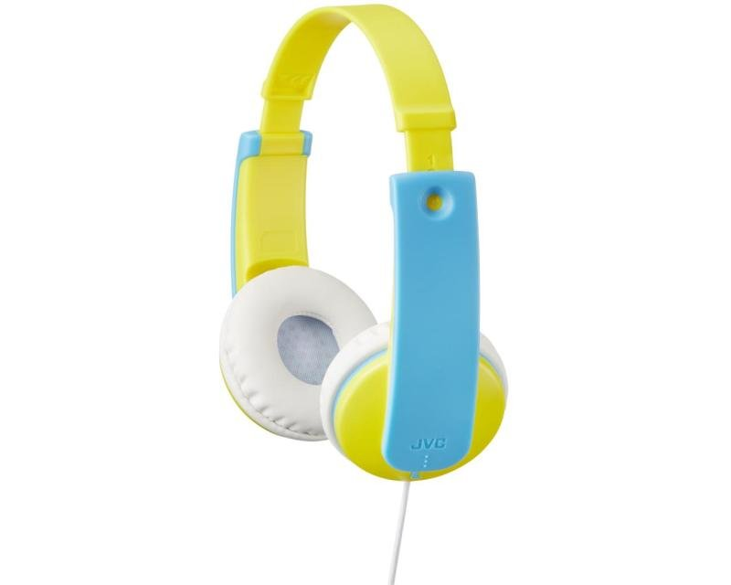 JVC Kids Over Ear Blue/Yellow Headphones