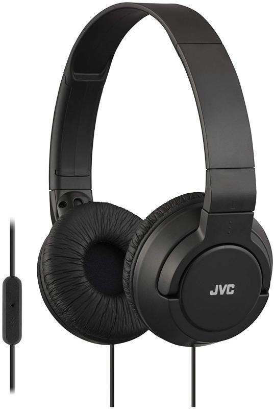 JVC Lightweight Black Headphones