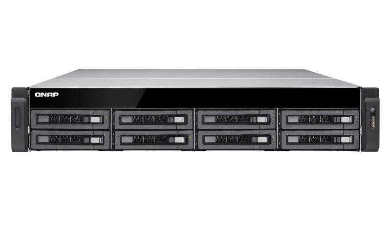 QNAP TS-EC880U-E3-4GE-R2 48TB (8 x 6TB SGT-EXOS) 8 Bay with 4GB RAM