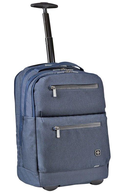 Wenger CityPatrol Rolling 16'' Laptop Backpack Navy
