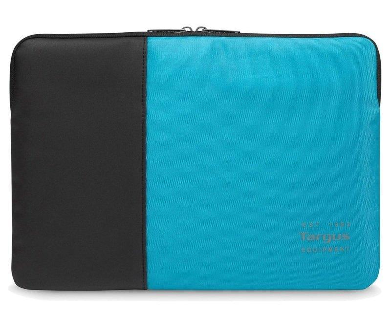 "Targus Pulse 15.6"" Laptop Sleeve - Black/Atoll Blue"