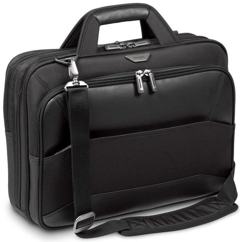 "Targus Mobile VIP 12 - 15.6"" Large Topload Laptop Case - Black"