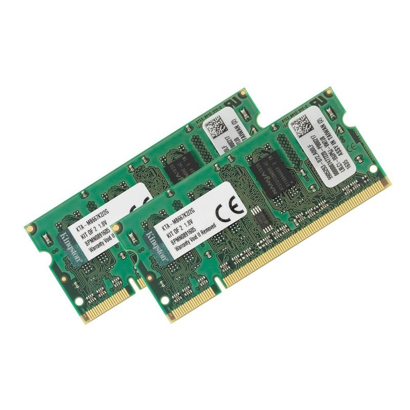 Kingston 2GB DDR2 667MHz Apple Laptop Memory