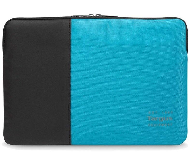 "Targus Pulse 13-14"" Laptop Sleeve - Black/Atoll Blue"