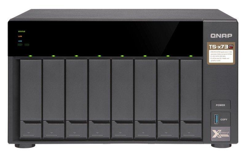 QNAP TS-873-4G 48TB (8 x 6TB WD ULTRASTAR) 8 Bay NAS Unit w/4GB RAM