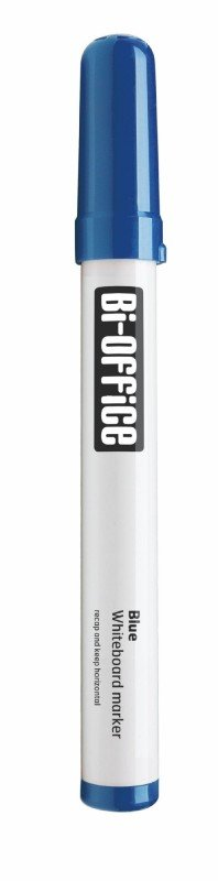 Bi-Office Dryerase Markers Blue (Pack 10)