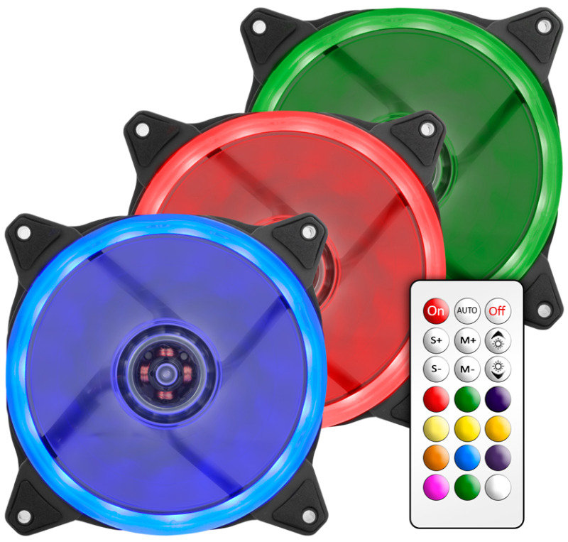 Image of EG 120mm RGB Fan Set with Controller