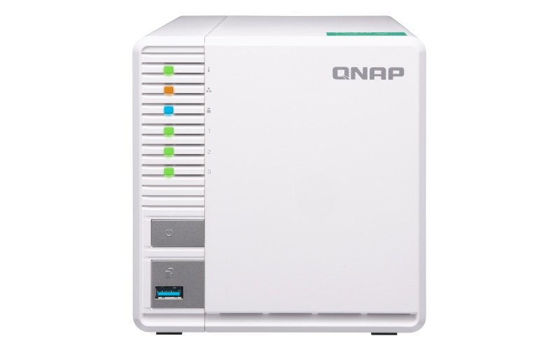 QNAP TS-328 6TB (3 x 2TB WD RED) 3 Bay Desktop NAS Unit