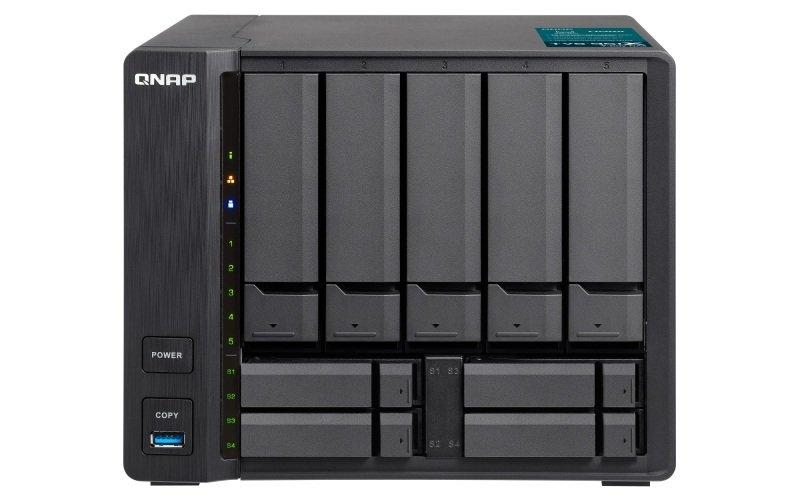 QNAP TVS-951X-2G 50TB (5 x 10TB WD ULTRASTAR) 9 Bay NAS with 2GB RAM