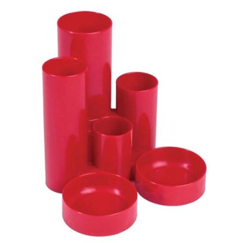 Value Deflecto Tube Tidy Red