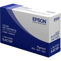 Genuine Tri-Colour Epson SJIC15P Ink Cartridge