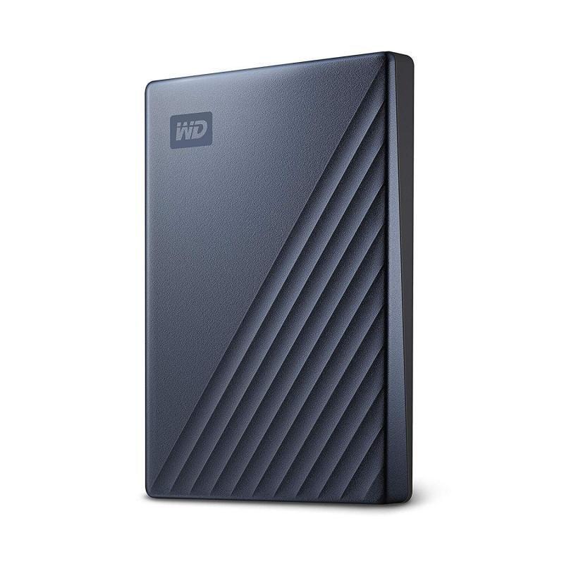 WD My Passport Ultra Blue 4TB Portable Hard Drive