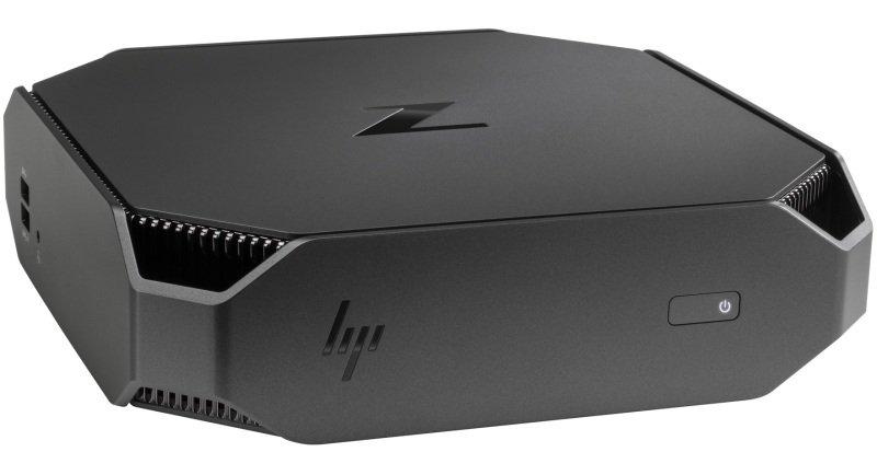 Image of HP Z2 Mini G4 Workstation, Intel Core i7-8700 3.2GHz, 16GB DDR4. 512GB SSD, No-DVD, NVIDIA Quadro P1000 4GB, Windows 10 Pro 64