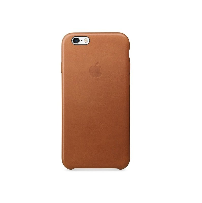 newest 35b17 679ba Apple iPhone 6s Leather Case Saddle Brown