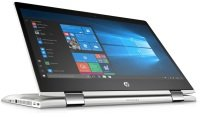 "HP ProBook X360 440 G1 2-in-1 Intel Core i7, 14"", 8GB RAM, 256GB SSD, NVIDIA MX130 2GB, Windows 10 Pro, Notebook - Silver and Black"
