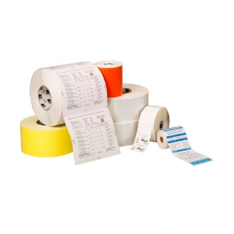 Label Paper 102x102mm; Direct Thermal Z-perform 1000d Uncoated Permanent