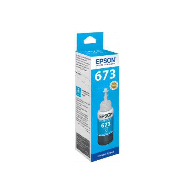 Epson T6732 Cyan 70ML Ink Bottle