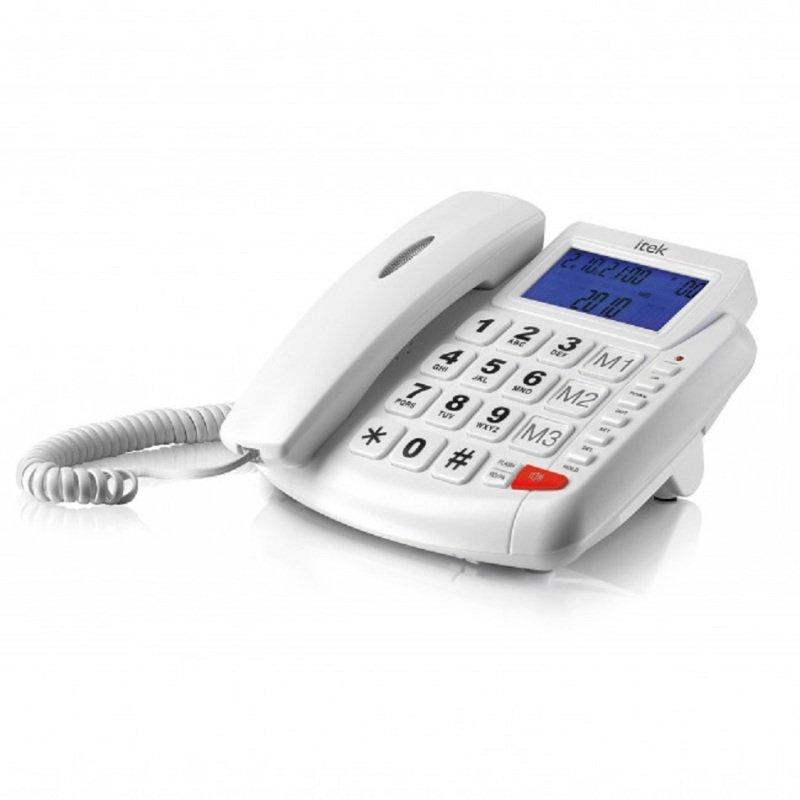 iTek I62002 Big Button LCD Telephone