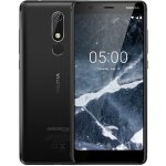 "Nokia 5.1 Black 5.5"" 16GB 4G Unlocked & SIM Free + 16GB SD Card and Clear Case"