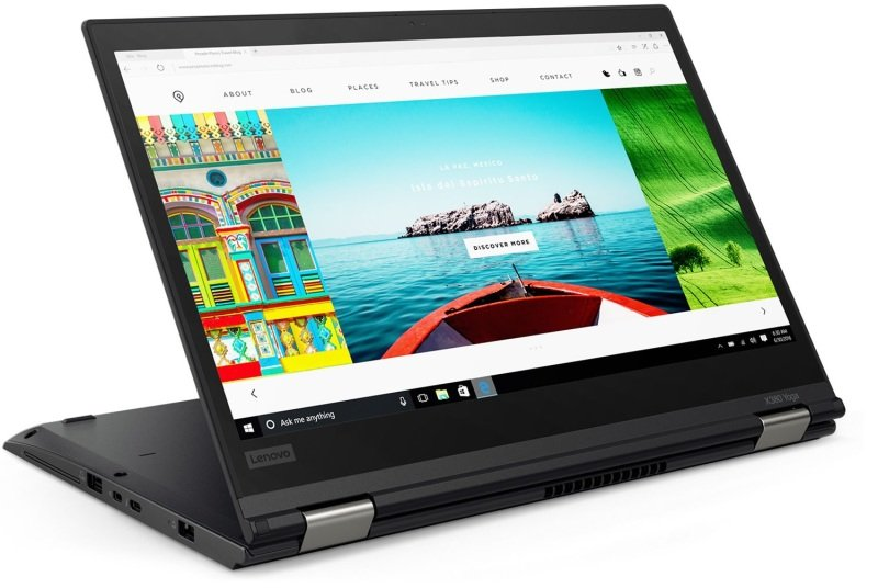 Lenovo ThinkPad X380 Yoga 20LH Intel Core i7-8550U 1 8GHz 16GB DDR4 + 512GB  SSD 13 3