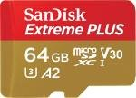 SanDisk 64GB Extreme Micro SD Card with Adapter