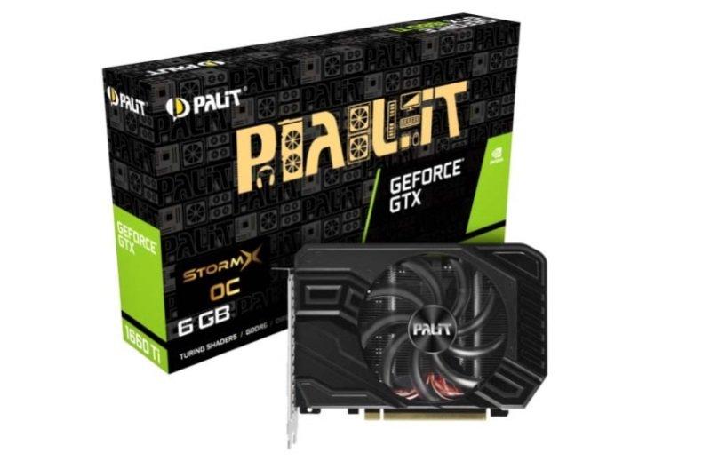 Palit GeForce GTX 1660 Ti STORMX OC 6GB DDR6 Graphics Card