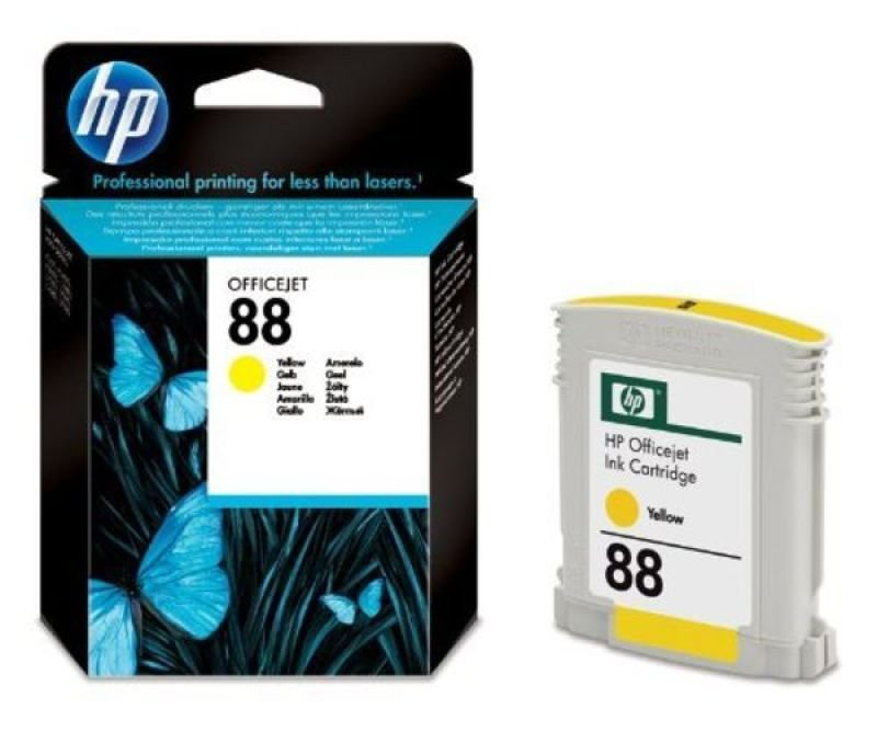 HP 88 Yellow Ink Cartridge - C9388AE