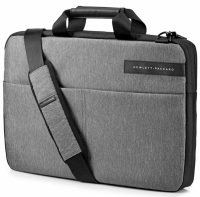 "HP 15.6"" Signature Slim Topload Case Grey + Black"